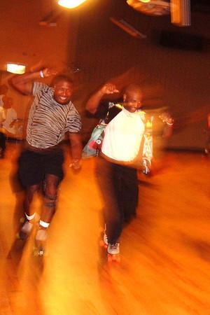 20000704 Rollerskating at MLK Rink Chicago