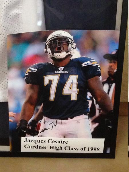 Top 25 local athletes: Jacques Cesaire