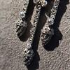 1.63ctw Victorian Triple Drop Diamond Necklace 15