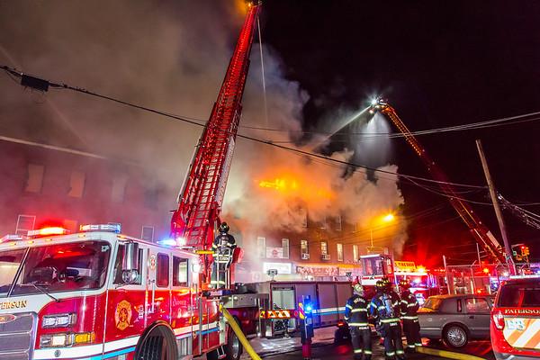 Paterson NJ 5th alarm, 255-263 River St. 05-06-19