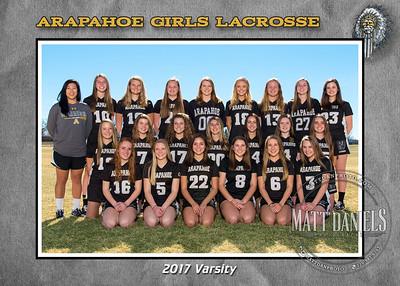 2017 Arapahoe Girls Lacrosse