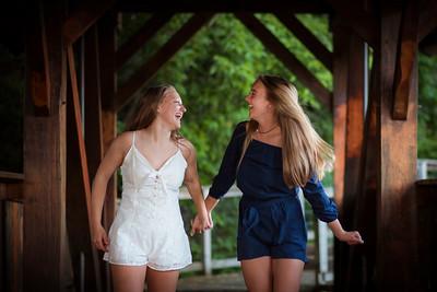 Maddie and Meghan