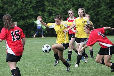 U17 Girls Clifton Park Sundevils vs Georgia