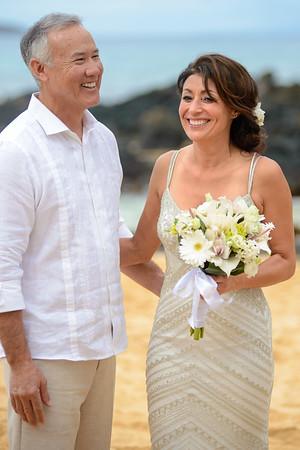 Ford Wedding, 12-30-16, Makena Cove, Maui