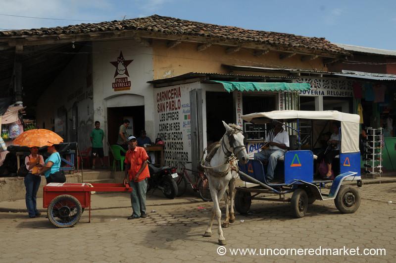 Horse Taxi - Rivas, Nicaragua