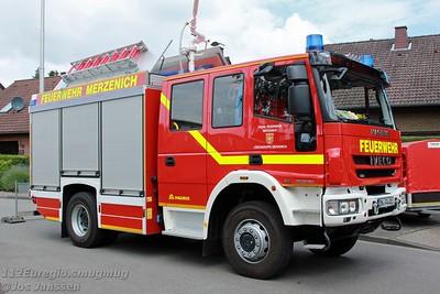 Tag der offenen Tür Feuerwehr Merzenich