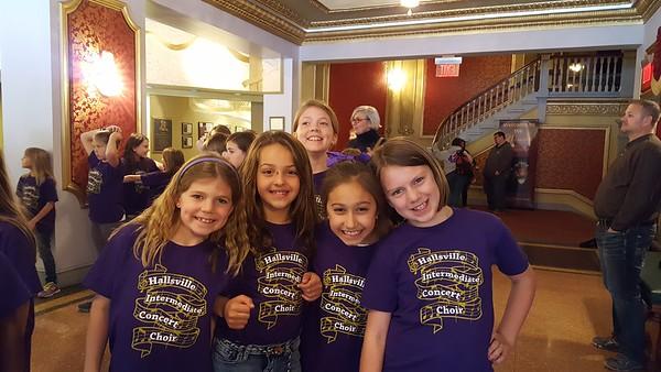 HIS Intermediate Choir at Missouri Theater