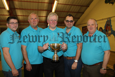 Newry and Mourne Cup and Shield Final at Cloughreagh