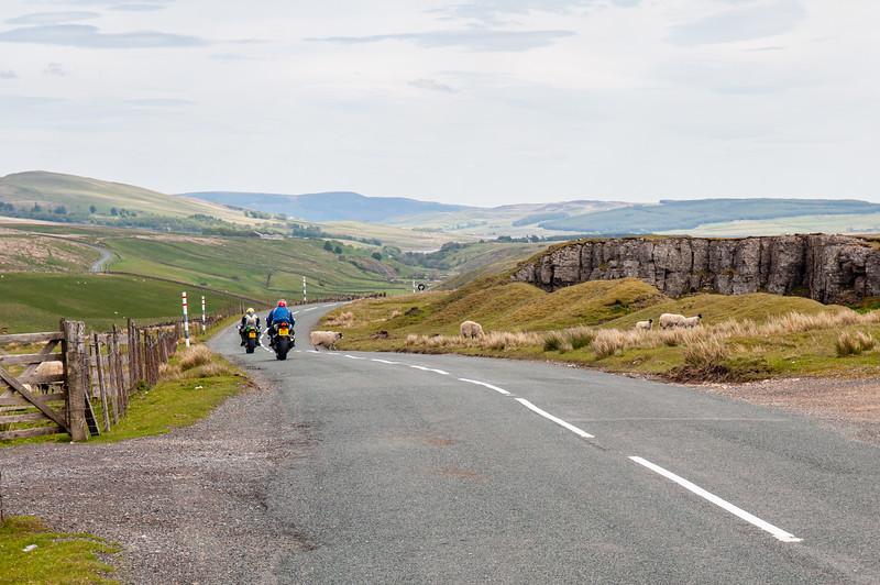 Biking in Teesdale