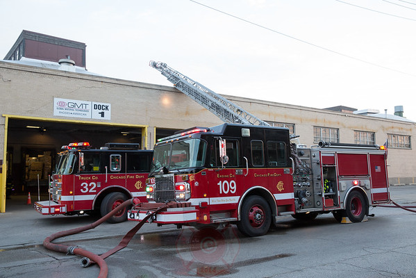 Still & Box Alarm of Fire / Level 1 Haz-Mat 2925 W. 31st Street August 11, 2016