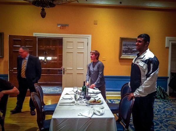 Club Atwater Xmas Dinner 2013