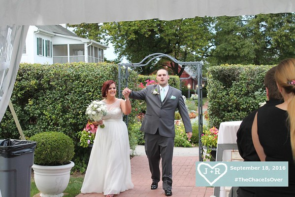 Jessica and Ray Chace Wedding 9/18/2016
