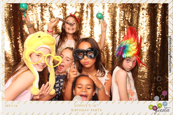Sophie's 10th Birthday Party  9.11.16