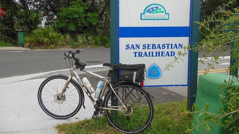 Trek Navigator San Sebastian Trailhead Altamonte Springs