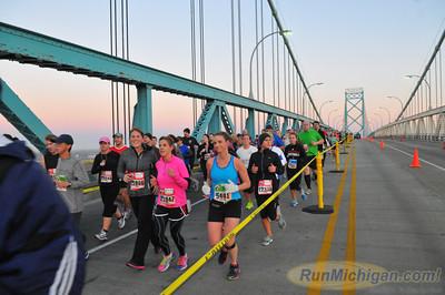 Ambassador Bridge, Gallery 5 - 2012 Detroit Free Press Marathon