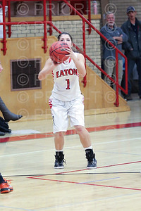 12/9/2014 Eaton Varsity Girls Basketbll vs Sterling