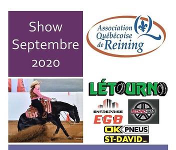 Association Québécoise de Reining - Septembre Show 2020
