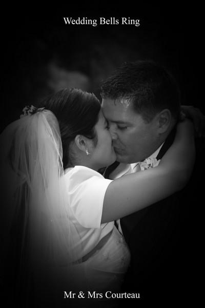 Wedding Bells Ring July 5, 2008  Courteau