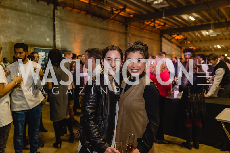 Raquel Fereshetian Denise Vu. 2018 StarChefs Tasting Gala & Awards Ceremony. December 11, 2018. Elyse Cosgrove Photography.ARW