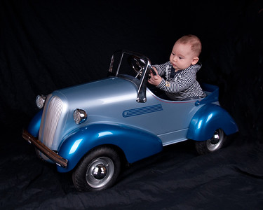 HARLAN'S PEDAL CAR PORTRAITS