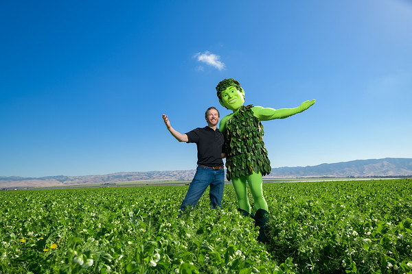 Green Giant in the fields of Gonzales