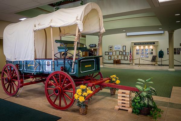 John Deere Conestoga-style Covered Wagon