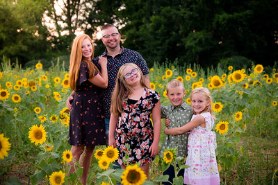 McClain and Wheeler Sunflower Session