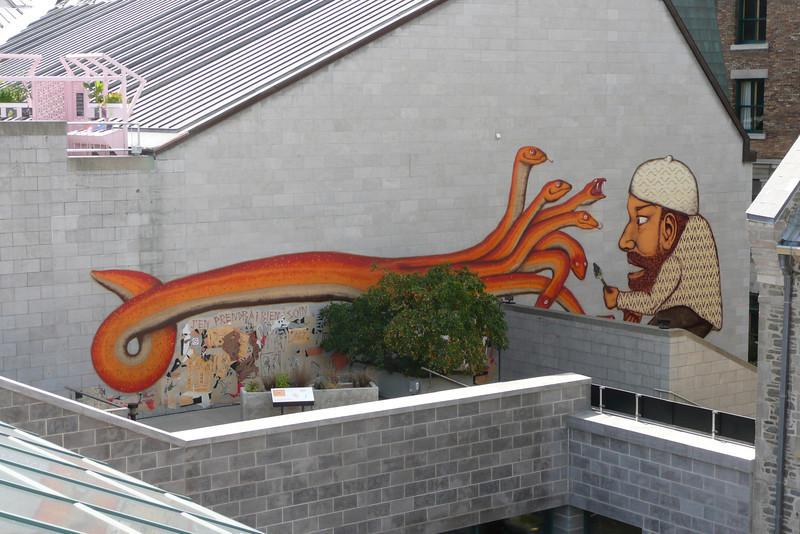 Mural. Quebec City
