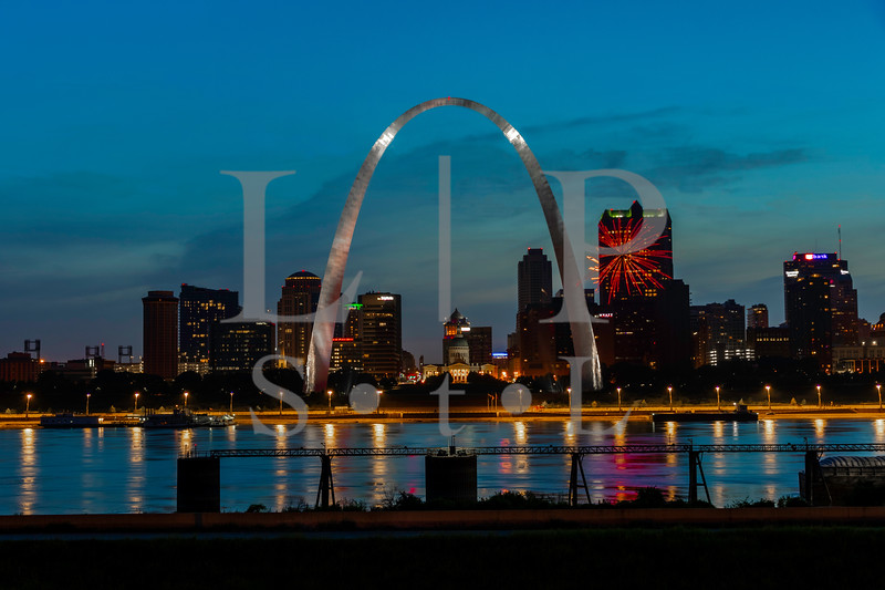 St Louis Skyline Pandimic