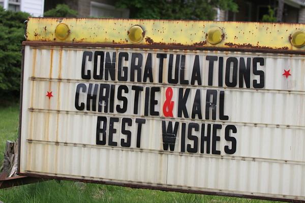 Christie & Karl - Reception