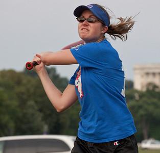 Softball on the Mall 8-4-09