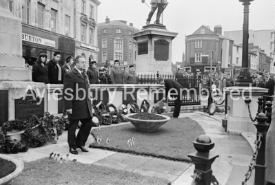 Remembrance Service, Nov 8th 1970