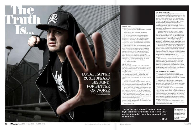 2UGLi - Submerge Magazine Article