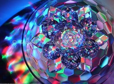 Drancel light synthesis: Swarovksi Waterlily Flower Crystal: Part 1
