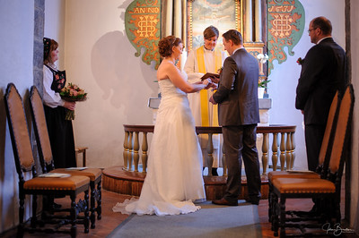 Nina og Per-Kristians bryllup
