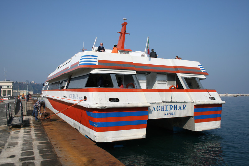 2008 - HSC ACHERNAR in Procida.