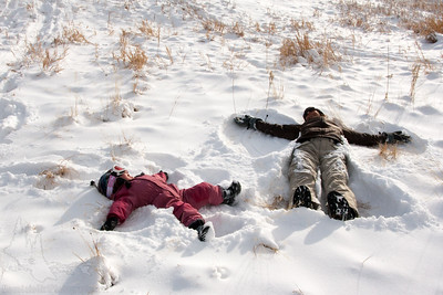 Snow Angels at Meyer Ranch