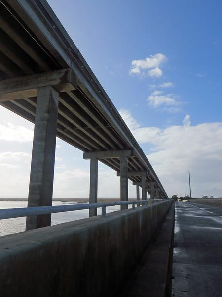 November 26:  The old M. E. Thompson Bridge .  .  .