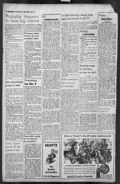 The Trojan, Vol. 35, No. 58, December 06, 1943