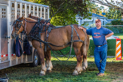 Horse Pull at State Fair - September 10, 2014
