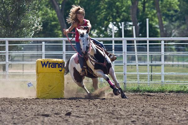 Tecumseh Barrel Racing Aug 30 2008