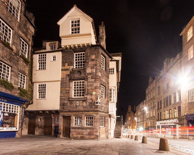 John Knox House in Edinbugh