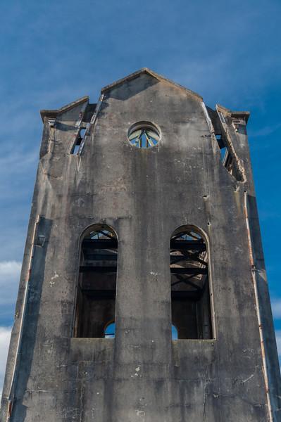 No. 5 Shaft, Waihi, 2014.