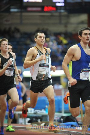 Boys' Mile, Michigan only - 2013 New Balance Indoor HS Nationals