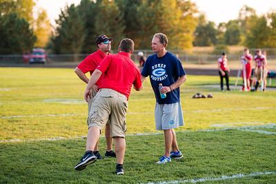 9-22-17 Garber Varsity Football