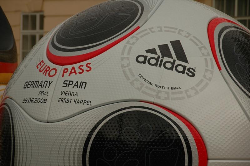 Giant Football for Euro 2008 - Vienna, Austria