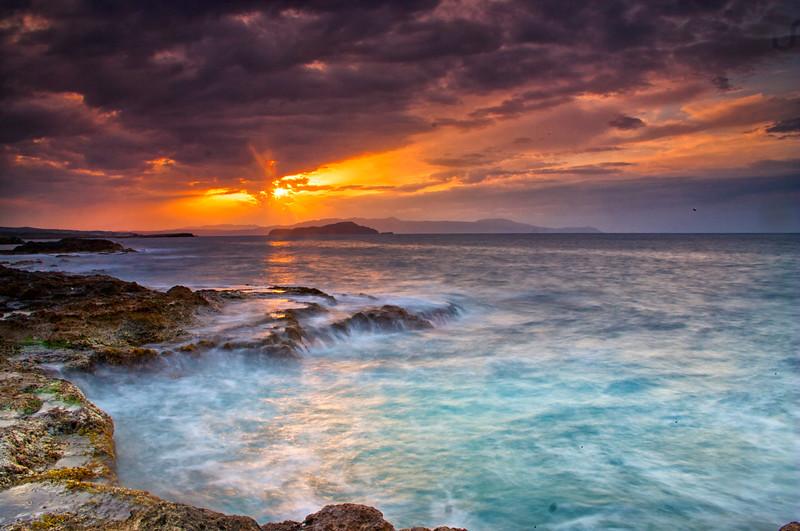 Sunset at Chania