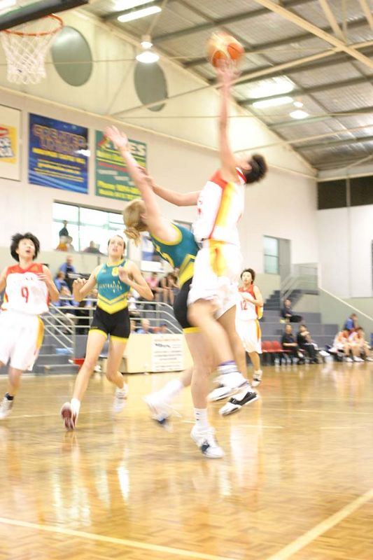 Youth Olympics-Syd 2005 Australia Vs China Women