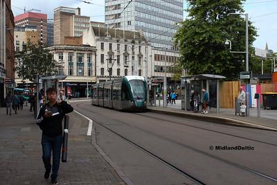 Nottingham (Tram), 20-08-2019