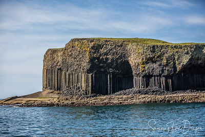 Isle of Staffa - Fingal's Cave & Isle of Iona, Scotland 5-2018
